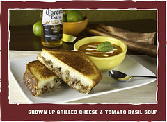 Grown Up Grilled Cheese & Tomato Basil Soup - Z'Tejas | Bellevue.com