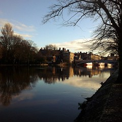 Fresh morning stroll in York