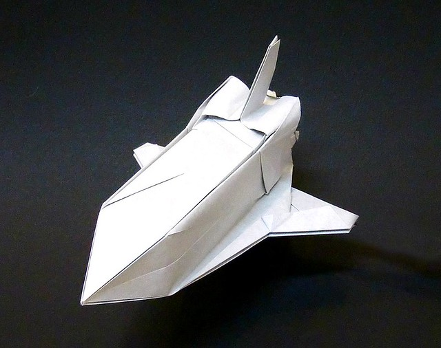 Make An Origami Rocket Ship
