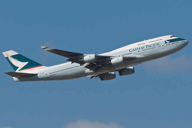 Cathay Pacific Airways Boeing 747-467 B-HOW (55238)