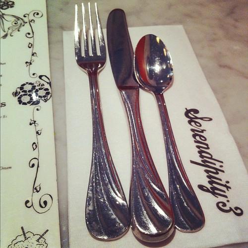 #silverware #serendipity