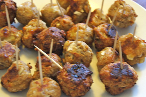 8th Birthday Party Ideas - Chicken Balls
