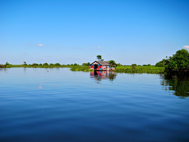 Riverboat to Siem Reap, Cambodia