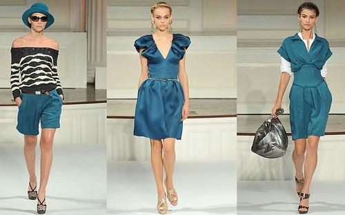 Oscar-de-la-Renta-primavera-vestidos-azules-cortos