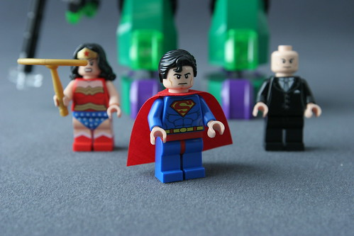 6862 Superman vs Power Armor Lex - Superman 1