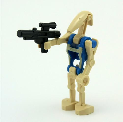 Day 11 - Pilot Droid with Gun