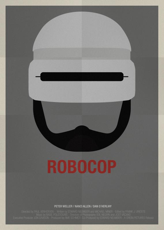 Máscaras e seus filmes, robocop