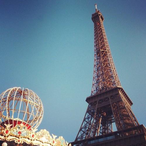 巴黎鐵塔,多年不見,你好嗎?