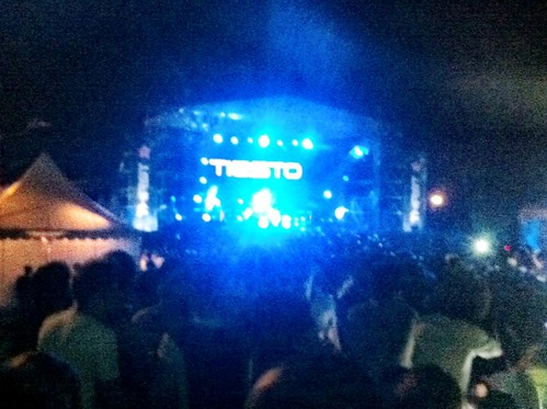 Tiesto at Sepang 2011