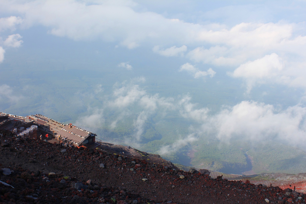 Mt. Fuji experience report (Yoshida route) Part2 (8)