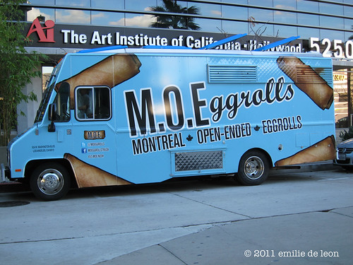 MOEggrolls at the Art Institute in North Hollywood