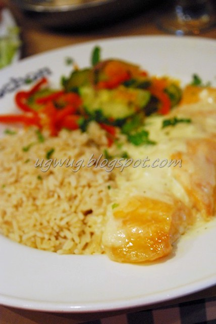 Pave De Saumon - Salmon Fillet with Basmati Rice