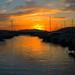 tramonto alghero porto