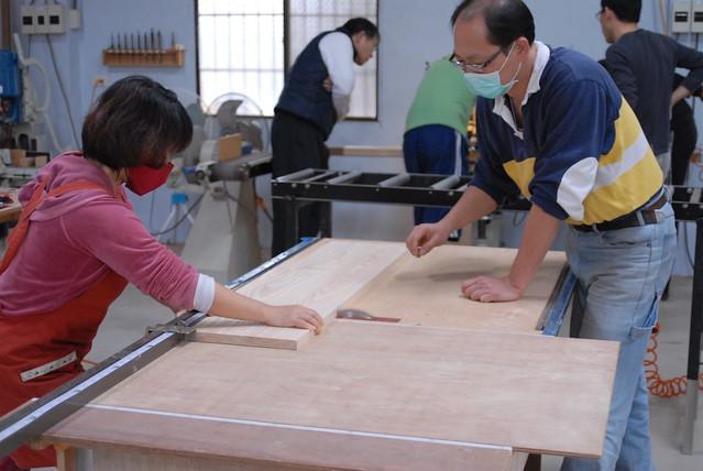 木作堂 鳩尾榫板凳製作 20111215_42