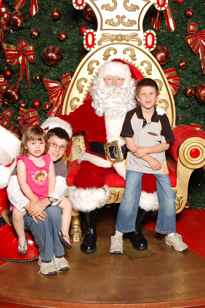 Kids with Santa, 2011