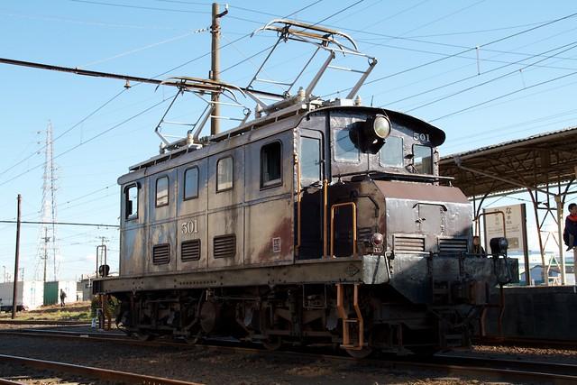岳南鉄道 ED50形501号