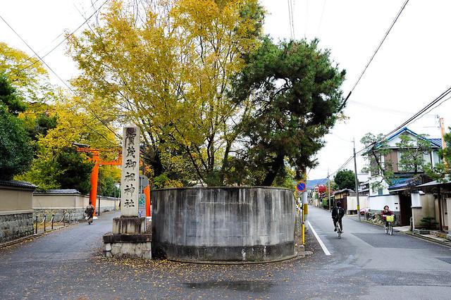 京都 Y 字路