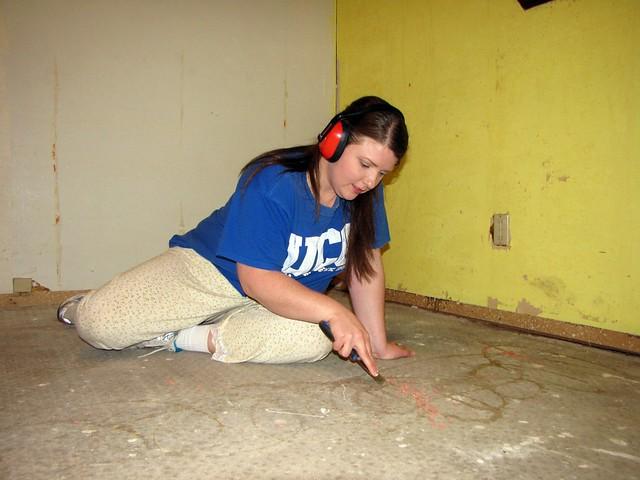 Scrapping the Carpet Glue