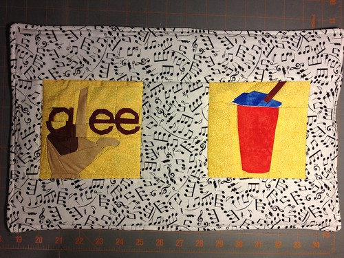 Finished Glee placemat