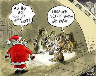 Papai Noel não existe