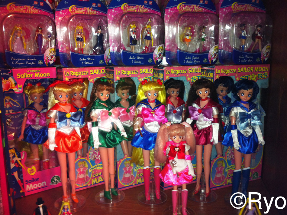 Sailor Moon Dolls - Giochi Preziosi - a photo on Flickriver