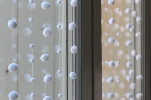 tiny fluffy white balls