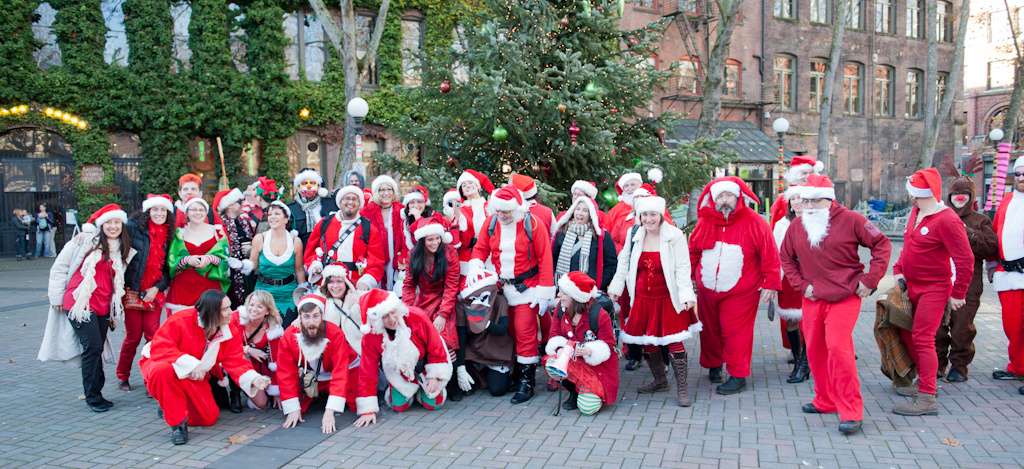 SantaCon Seattle 2011
