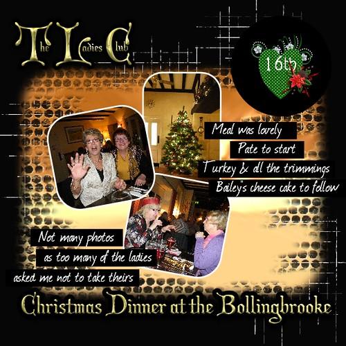 16th The Ladies Club Christmas Dinner