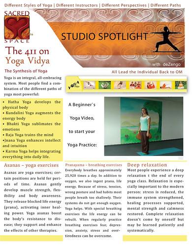 SACREDspace : January 1/2 2012 - Yoga Vidya (pg1)
