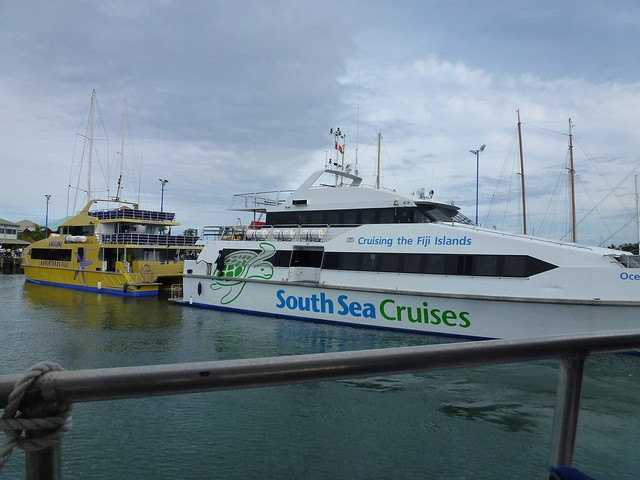 The Yasawa Flyer boats
