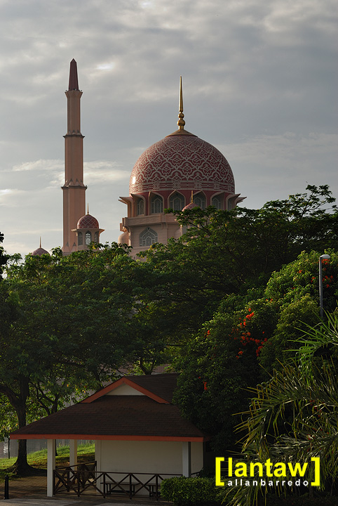 Towering Putra Mosque