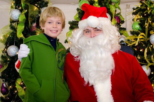 jman with santa