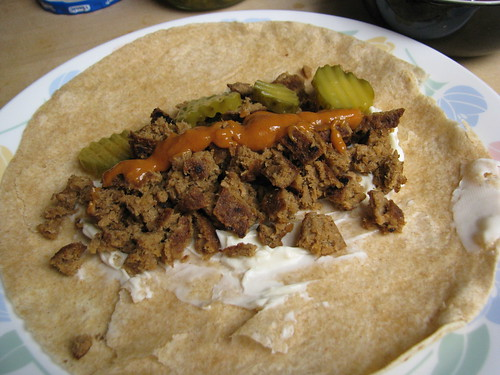 Big Bad Burger Wrap