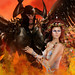 Couple's Shot 2 - Hades and Persephone. Closeup. by TabithaxSomersley