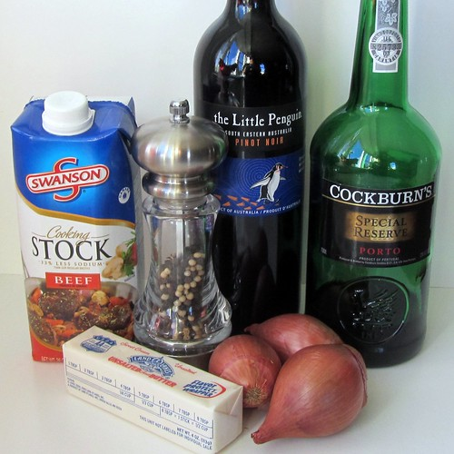 Red Wine Sauce, Ingredients