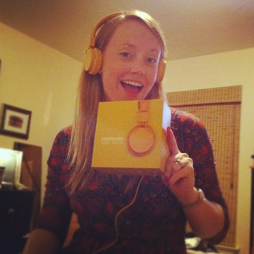 #headphones I wanted :) yay! #mustard #urbanears