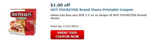 Hot Pockets Coupon