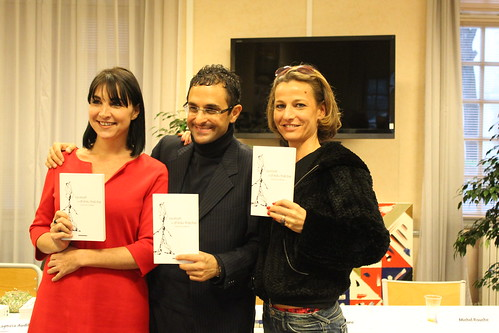 Salon du livre de Saint-Cyr 2011 : Layticia Audibert, Arash Derambarsh, Sandrine Lucchini by Arash Derambarsh