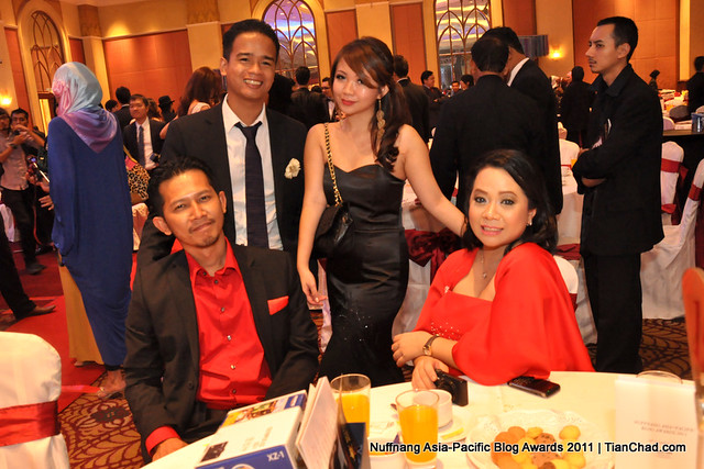 Nuffnang Asia-Pacific Blog Awards 2011 | TianChad.com