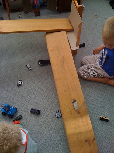 playing with cars - speed