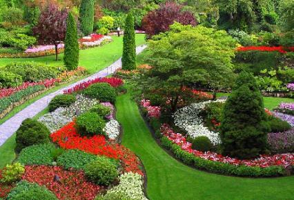 Dise o de jardines ideas y sugerencias for Fotos de jardines particulares