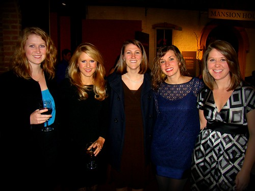 Mere, Megan, Mel, Me & Kayla at J & Collins' wedding