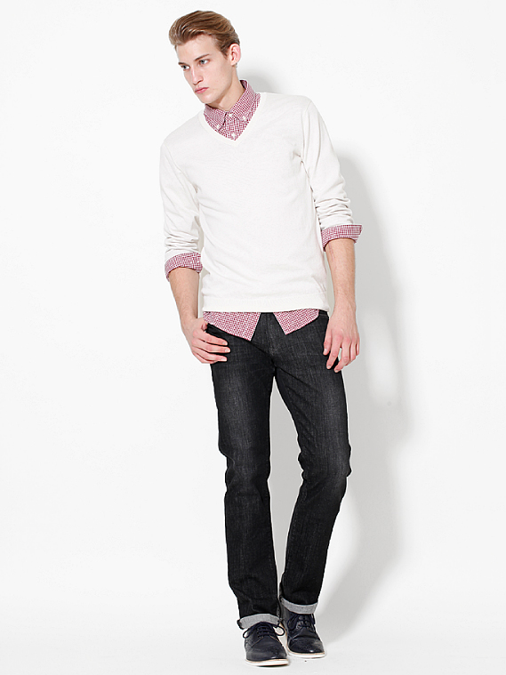 UNIQLO EARLY SPRING STYLE FOR MEN 2012_007Henrry Evans