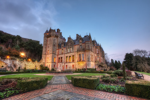 uk blue ireland sunset red building green slr castle architecture digital photoshop canon garden eos photo high europe dynamic unitedkingdom path capital landmark belfast photograph processing northernireland 5d bluehour dslr northern range hdr highdynamicrange ulster normans markii countyantrim cavehill countydown postprocessing belfastcastle photomatix scottishbaronial earlofshaftesbury béalfeirste charleslanyon cityofbelfast thefella tuaisceartéireann 5dmarkii conormacneill thefellaphotography