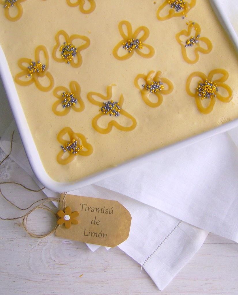 Tiramisú de limón