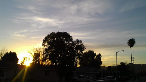 Menifee sunset, the last one of 2011 by billgould