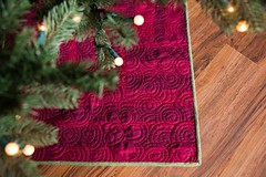Wonderland Christmas Tree Skirt