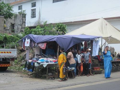 Ladies in Saris in Chemin Grenier