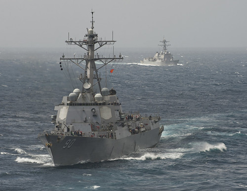Image result for USS Chafee china ships chasing