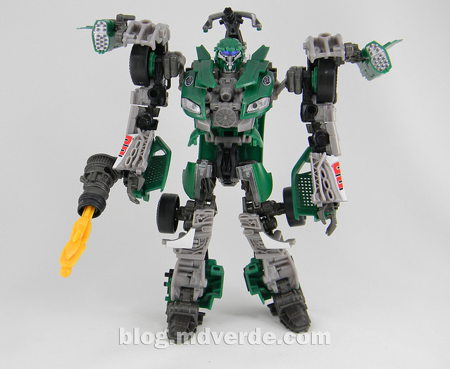 Transformers Roadbuster DotM Human Alliance - modo robot